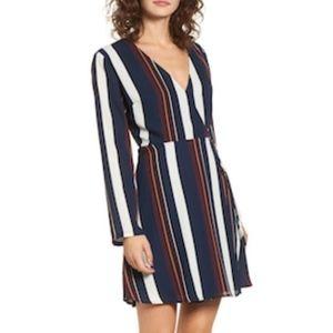 Lush Elly Wrap Dress